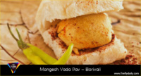 best vada pav places in Mumbai - mangesh vada pav