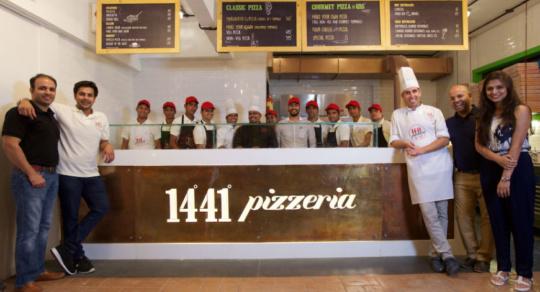 pizza restaurants in Mumbai - Andheri 1441 pizzeria