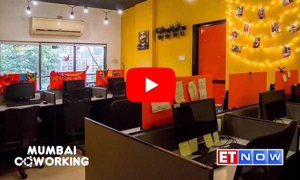 Mumbai coworking featured on ET now
