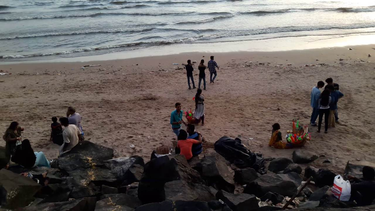 Rock Beach is one the places to visit in Mumbai - Things To Do in Mumbai