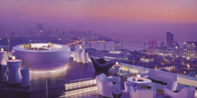 valentine's day in Mumbai open air dinner celebration on this