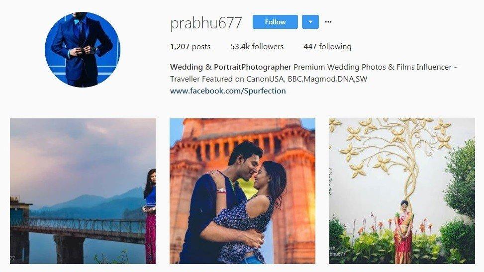 Wedding Photographers in Mumbai - prabhu