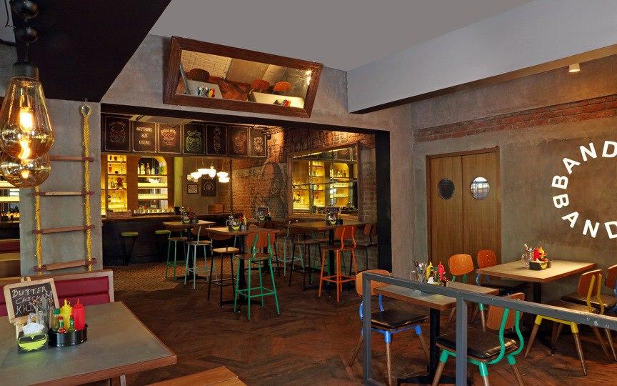 monkey bar burger places Mumbai