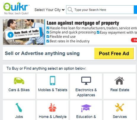 make money on weekends with Quikr