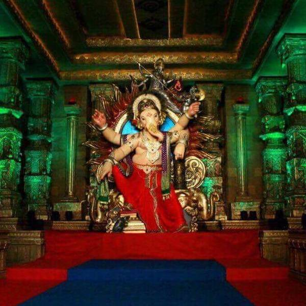 Ganesh Mandals in Mumbai : Chinchpokli Chintamani