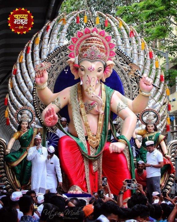 Ganesh Mandals in Mumbai : Khetwadi Cha Raja