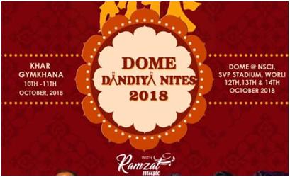 Garba events in Mumbai - Dome Dandiya Nights, Ramzal Music