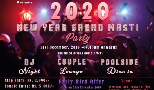 Evershine Club New Year Grand Masti