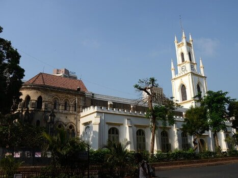 Christmass mass in mumbai St Thomas Cathedral, Fort