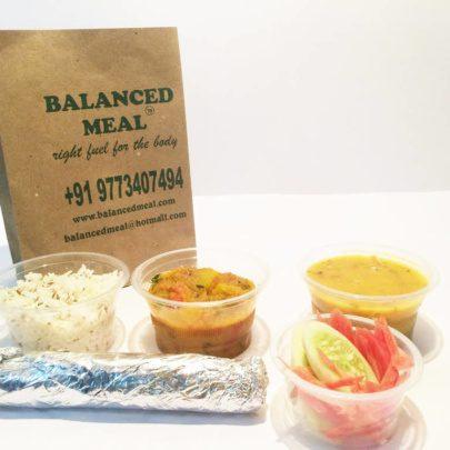 balanced meal lunchbox
