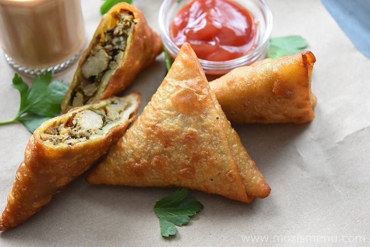Iftar Party Menu - Keema Samosa