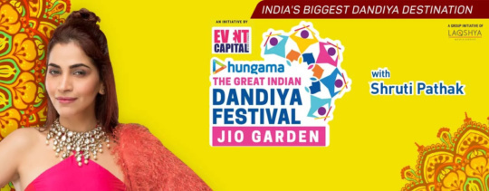 The great Indian Dandiya festival, Jio Gardens, Bandra