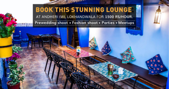 Terrace lounge At Mumbai Coworking