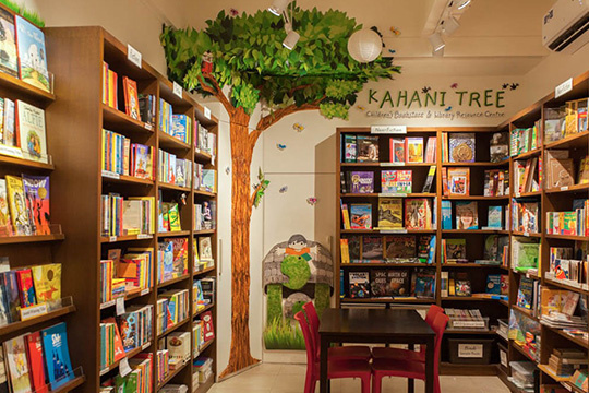 Kahani tree bookstore