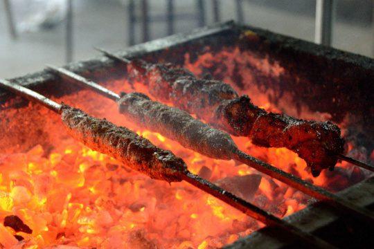 Street food At Cafe Noorani