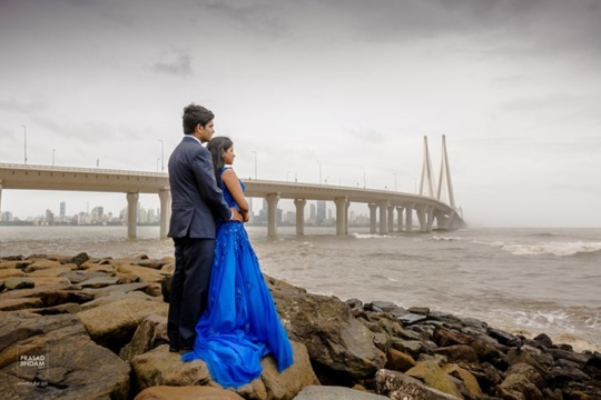 pre-wedding photoshoot locations in Mumbai