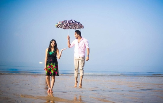 Pre-wedding shoot location in Mumbai