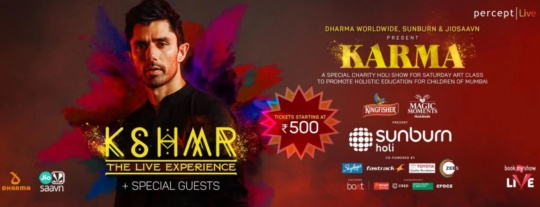 holi parties in Mumbai 2020 - Sunburn with KSHMR