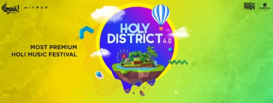holy district party - holi parties in Mumbai 2020